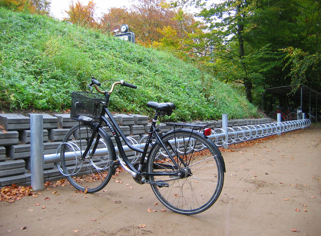 Cykelställ Dekor