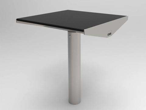 Urbanic bord litet svart laminat