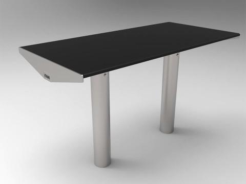Urbanic bord svart laminat