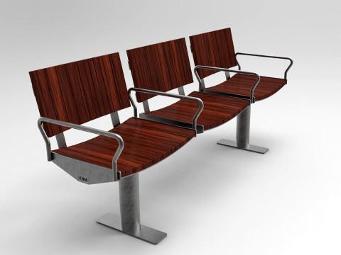 Urbanic soffa trä ribbor