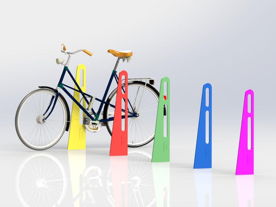 cykelpollare låsbara robusta